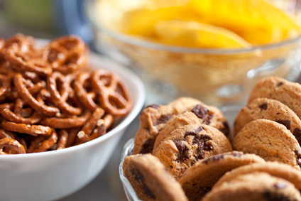 cookies and pretzels